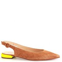 Туфли-слингбеки Fabio Rusconi на ярком каблуке, фото