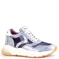 Фиолетовые кроссовки Voile Blanche с эффектом голограммы, фото