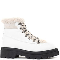 Белые ботинки Voile Blanche на меху, фото