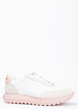Женские кроссовки Stokton с замшевыми вставками, фото