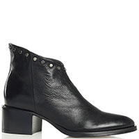 Черные ботинки Fru.It с металлическими заклепками, фото