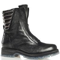 Черные ботинки Fru.It с лаковыми вставками, фото