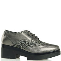 Женски туфли Albano с декором из кружев, фото