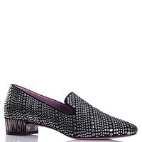 Черные туфли Albano с металлическим декором, фото