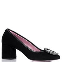 Замшевые туфли Albano с декором на носке, фото