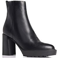 Черные ботинки Nila&Nila на высоком каблуке, фото
