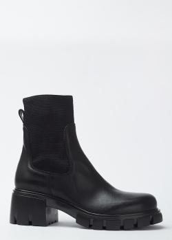 Черные ботинки Fru.It с эластичной вставкой, фото
