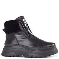 Черные ботинки Bogner на меху, фото