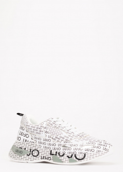 Кроссовки Liu Jo белого цвета, фото