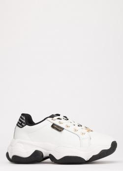 Массивные кроссовки Trussardi Jeans белого цвета, фото