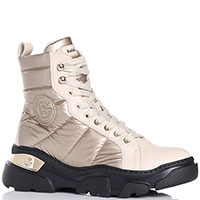 Зимние ботинки Baldinini на шнуровке и молнии, фото