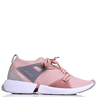Кроссовки Liu Jo розового цвета, фото