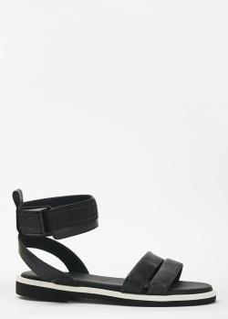 Серебристые сапоги Casadei на высоком каблуке, фото