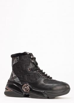 Черные ботинки Baldinini на меху, фото