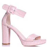 Босоножки Nero Giardini розового цвета, фото