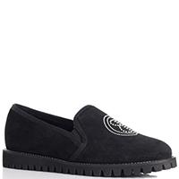 Замшевые туфли Ballin с декором-цепью вдоль подошвы, фото