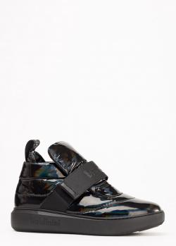 Черные ботинки Baldinini из текстиля, фото