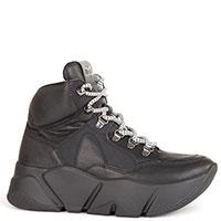Черные ботинки Voile Blanche на толстой подошве, фото