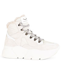 Замшевые ботинки Voile Blanche белого цвета, фото