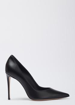 Черные лодочки Le Silla на высоком каблуке, фото