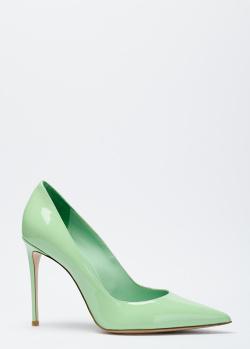 Лодочки на высоком каблуке Le Silla из кожи, фото