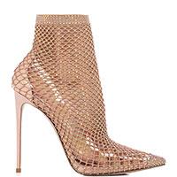 Туфли Le Silla в сетку бежевого цвета, фото