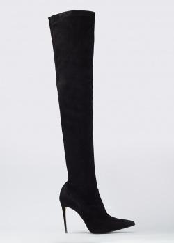 Замшевые ботфорты Le Silla на каблуке, фото