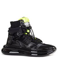 Женские ботинки Loriblu из кожи черного цвета, фото