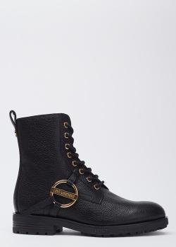 Ботинки Love Moschino из зернистой кожи, фото
