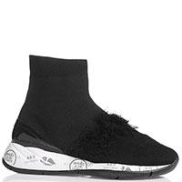 Черные кроссовки Premiata с чулком, фото