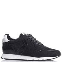 Черные кроссовки Voile Blanche из кожи и текстиля, фото