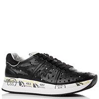 Черные кроссовки Premiata с перфорацией, фото