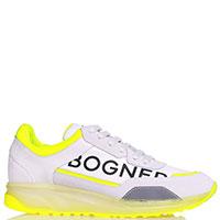Кроссовки Bogner белого цвета, фото