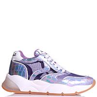 Фиолетовые кроссовки Voile Blanche на толстой подошве, фото
