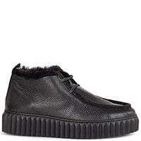 Черные ботинки Voile Blanche с закругленным носом, фото