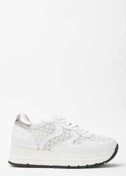Кроссовки с перфорацией Voile Blanche белого цвета, фото