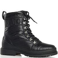 Утепленные ботинки Liu Jo черного цвета, фото