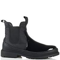 Утепленные ботинки-челси Liu Jo с лаковым покрытием, фото