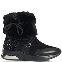 Замшевые ботинки Liu Jo с утеплителем, фото