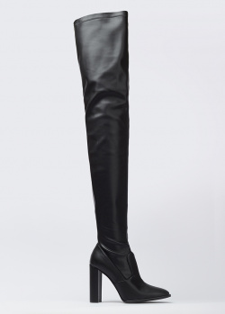 Кожаные ботфорты Le Silla на каблуке, фото