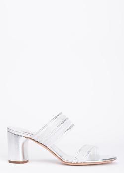Мюли Casadei серебристого цвета, фото