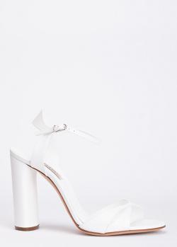 Босоножки Casadei белого цвета, фото
