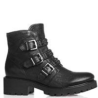 Ботинки Nero Giardini с ремешками и заклепками, фото