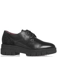 Туфли Nero Giardini с лентой вместо шнурков, фото