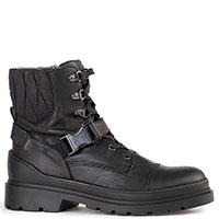Черные ботинки Bogner с пряжкой, фото