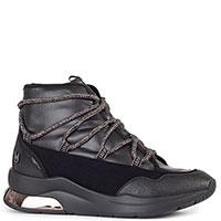 Черные ботинки Liu Jo на толстой подошве, фото