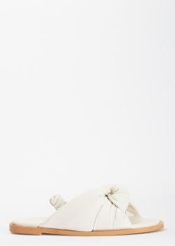 Белые сандалии Bianca Di из кожи, фото