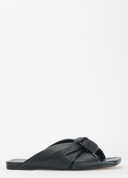 Мюли из кожи Bianca Di с квадратным носком, фото