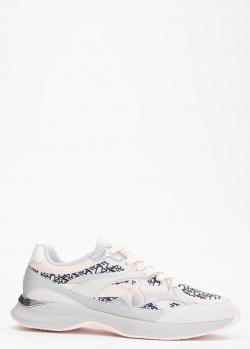 Кроссовки на шнуровке Pinko с фирменным принтом, фото