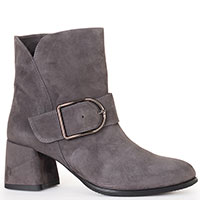 Замшевые ботинки Tommaso Marino серого цвета, фото